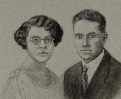 Aura Doris and Eugene Vance